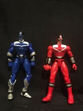 Power Rangers Red Blue Bandai 2000  2 action figures