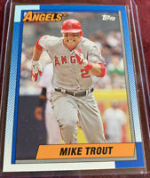 Mike Trout 2013 Topps Archives 1990 Topps Style, Card  #200, Los Angeles Angels