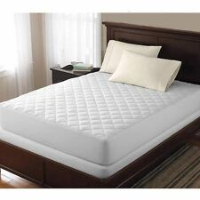 Extra Deep Quilted fitted matress protector hygienic & Non-Allergenic (WHITE)