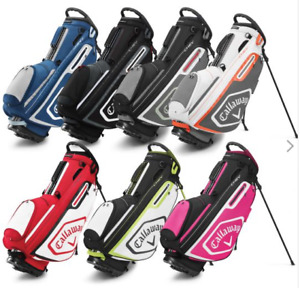 Callaway Golf Chev Stand / Carry Bag 5-Way Top (Black/Blue/Red/Yellow)