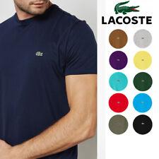 Men Lacoste T-shirt Pima Cotton Short Sleeve Crew Neck Tee TH6709 New