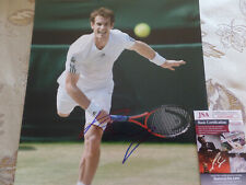 Tennis Legend  Andy Murray Autographed 11X14 action  PHOTO JSA Certified