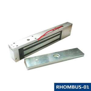 Single Door 280Kg 600Lbs Holding Force Electromagnetic Electric Magnetic Lock