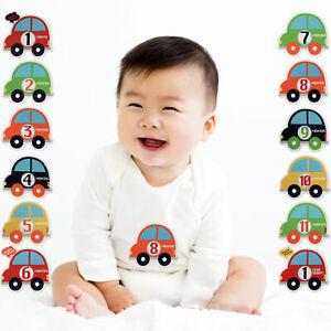 Rising Star Milestone Photo Prop Belly Stickers Gift Set, Baby Boys, Age 0-12M