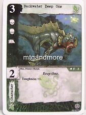 Call of Cthulhu LCG - 1x Backwater Deep One  #003 - Necronomicon Draft Pack