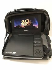 Phillips Portable DVD Player Chargers Case Earbuds