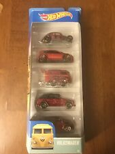 Hot Wheels volkswagen 5 Pack  Custom Colors 1/64 Hotwheels  VW  Kombi