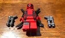 LEGO MARVEL SUPER HERO X-MEN DEADPOOL GENUINE MINIFIGURE ONLY FROM SET 6866 HOT!