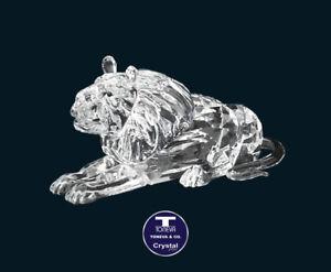 "[SPECIAL OFFER] ""A Lion"" Austrian Crystal Figurine was AU$131.00"