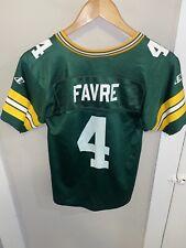 New listing VTG Brett Favre Green Bay Packer NFL Football Jersey sz. kids small