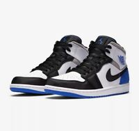 "Nike Air Jordan 1 Mid SE ""Union"" Royal Size 11.5 852542-102 New CONFIRMED SHIPME"