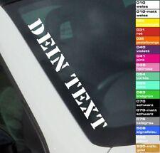 Wunschtext Autoaufkleber 55cm Frontscheibe Sticker Schriftzug Tuning Shocker JDM