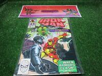 vtg invincible Iron Man 249 Marvel Comic book 1st print hi res pics