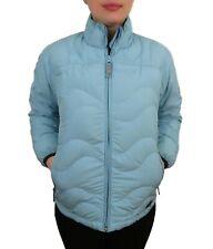 REI Girls Down Puffer Jacket Youth XL 16/18 Womens Medium Blue Coat Quilted Teen