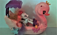 MY LITTLE PONY MUSICAL SWAN BOAT WITH RAINBOW DASH INCOMPLETE