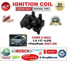 FOR FORD C-MAX 1.6 +Ti +LPG +FlexiFuel 2007-ON IGNITION COIL 3-PIN PLUG TYPE M4
