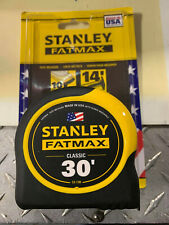 1 - 30' Stanley Fatmax Tape Measure # 33-730