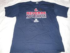 Boston Red Sox 2003 A.L. Championship Series Revese the Curse TShirt Majestic XL