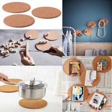 IKEA HEAT Pot Pan Stand Cork 3 Pcs 19cm Larger Dish Kitchen Trivet Worktop Saver