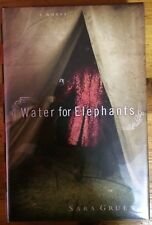 Water for Elephants by Sara Gruen (SIGNED hardcover with mylar)