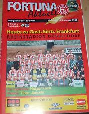 1997/98 2.Bundesliga Fortuna Düsseldorf - Eintracht Frankfurt