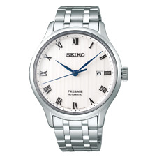 2018 New!! Seiko PRESAGE SARY097 Stamped Face See-Through Back Men's Watch Japan