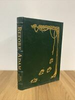 Before Adam by Jack London - Easton Press Leather