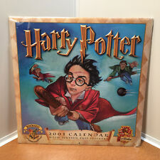 Harry Potter 2001 Calendar with Stickers New Please Read