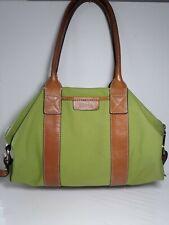 Authentic Vintage Green Canvas Michael Kors Bag