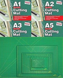 A1 A2 A3 A5 Self Healing Cutting Mat with Printed Grid Craft