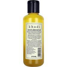 Khadi Sweet Almond Oil Massage Oil It is An Ayurvedic Product 210ml