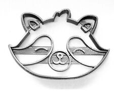 Raccoon Face Cute Masked Animal Mammal Special Occasion Cookie Cutter Usa Pr3464