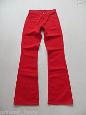 Levi's® Jeans Bootcut Hose, W 26 /L 32, rot, wie NEU ! Coloured Stoffhose, RAR !