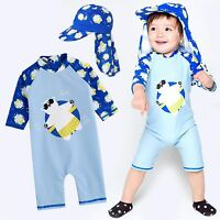 "Vaenait Baby Toddler Boys Swimwear Cap Bathing Suit /""Cooling jasw baby/"" 0-24M"