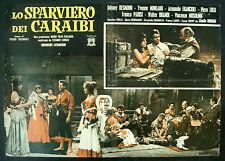 CINEMA-fotobusta LO SPARVIERO DEI CARAIBI desmond, monlaur, brandi, REGNOLI