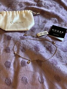 Guess necklace Rose Gold