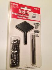 New 5/16-18 Helicoil Complete Thread Repair Kit Never Opened