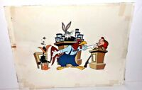 Warner Brothers Bugs Bunny Daffy Duck Elmer Foghorn Out Of Order Prototype Cel