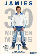 JAMIE OLIVER - JAMIES 30 MINUTEN MENÜS (VOL.1) 2 DVD NEU