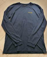 TIGHA x LFDY  Herren Longsleeve Shirt  Navy Blau Größe S
