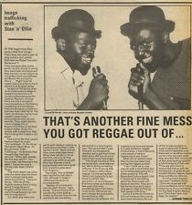 18/12/82Pgn04 Article & Picture(s) Laurel And Hardy - The Cockney Rappers