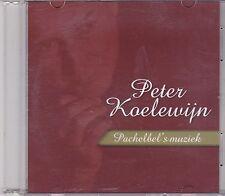 Peter Koelewijn-Pachelbels Muziek Promo cd single
