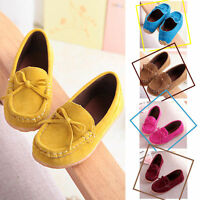 Baby Cute Peas Toddler Shoes Soft Leather Child Kids Girls Boys Casual Loafers