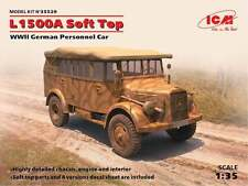 ICM 1/35 L1500A w/Soft Top WWII German Personnel Car # 35529