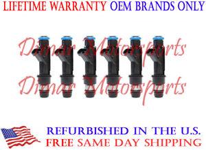 Lifetime Warranty - OEM Fuel Injector Set of 6 - 25317671