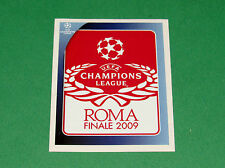 562 FINALE ROMA UEFA PANINI FOOTBALL CHAMPIONS LEAGUE 2008 2009