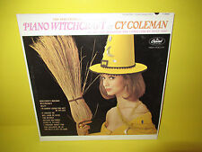 PIANO WITCHCRAFT - OF CY COLEMAN LP EX LOUNGE EXOTICA CHEESECAKE COVER