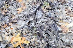 Ultra-Lite Lightweight Real-life Camo Camouflage Blind Netting w/ Carry Pouch