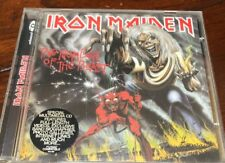 Iron Maiden The Number Of The Beast CD  1998 Remaster Castle UK RAW CD 129 Live