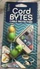 Tzumi Cord Bytes Cell Phone Cable Protector Turtle/Frog Pack NEW